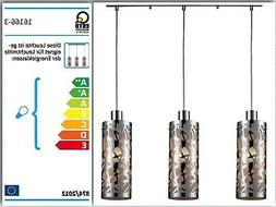 Esto 16166-3 Plafonnier Lampe à Suspension Luminaire Suspen