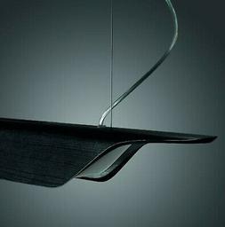FOSCARINI 2050072 52 - Luminaire suspendu Noir 125 cm design