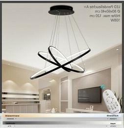 2130 A + Neuf Luminaire Suspendu LED 108W Télécommande la