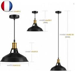 Albrillo Suspension Luminaire Industrielle, ?27 cm pour ampo