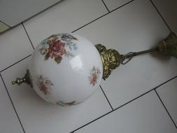 Ancien globe Verre Pour Lustre suspension luminaire