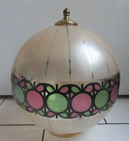 Ancien gros globe Verre Pour Lustre suspension luminaire