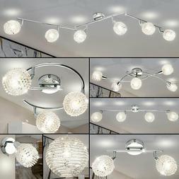 Design Feuilles Plafonnier Suspendu Lampe Luminaire Éclaira
