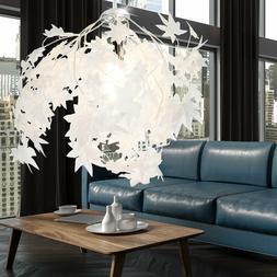 Feuilles Design Luminaire Suspendu la Vie Chambre Éclairage