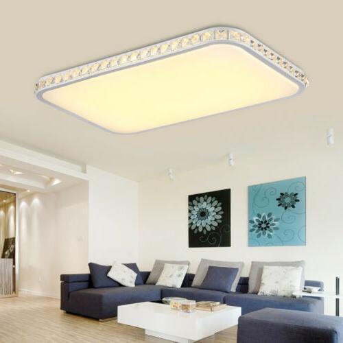 15w 48w led cristal luminaire plafonnier suspension