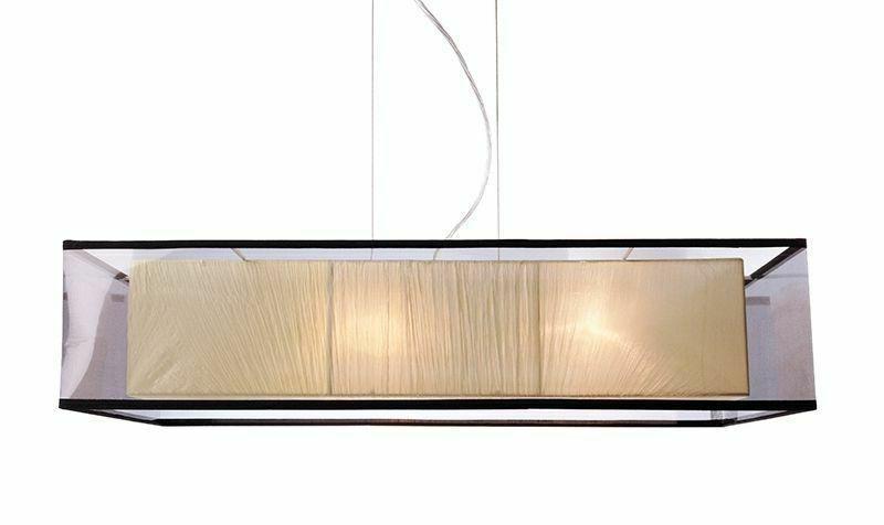 deko light luminaire suspendu capella ii noir