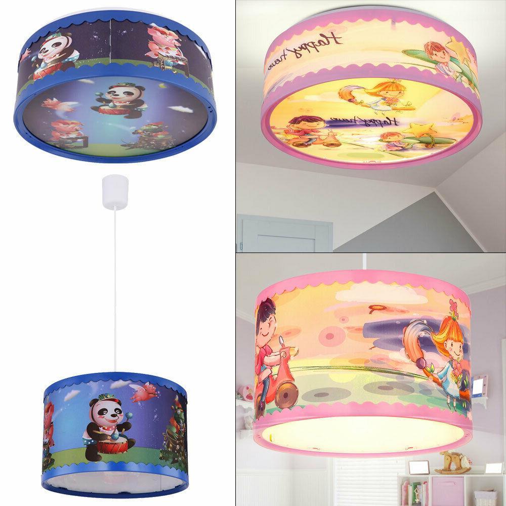 led enfants plafonnier suspension lampe animal design