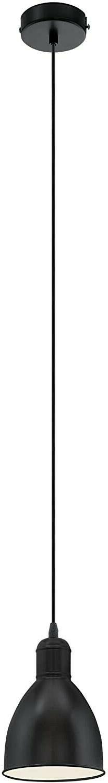 luminaire 49464 suspension noir