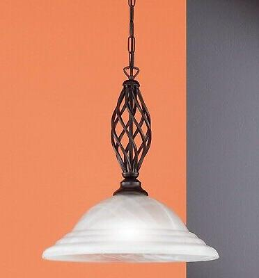 luminaire plafond lampe suspendue siena 1flg e27