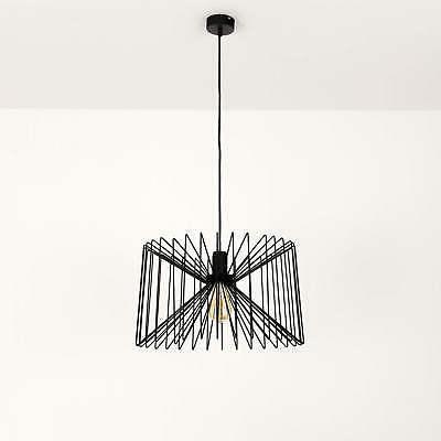 moderne luminaire suspendu 46cm noir suspension lampe