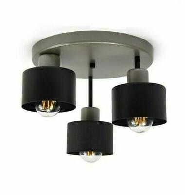 plafonnier suspension 3 a flammes luminaire lampe