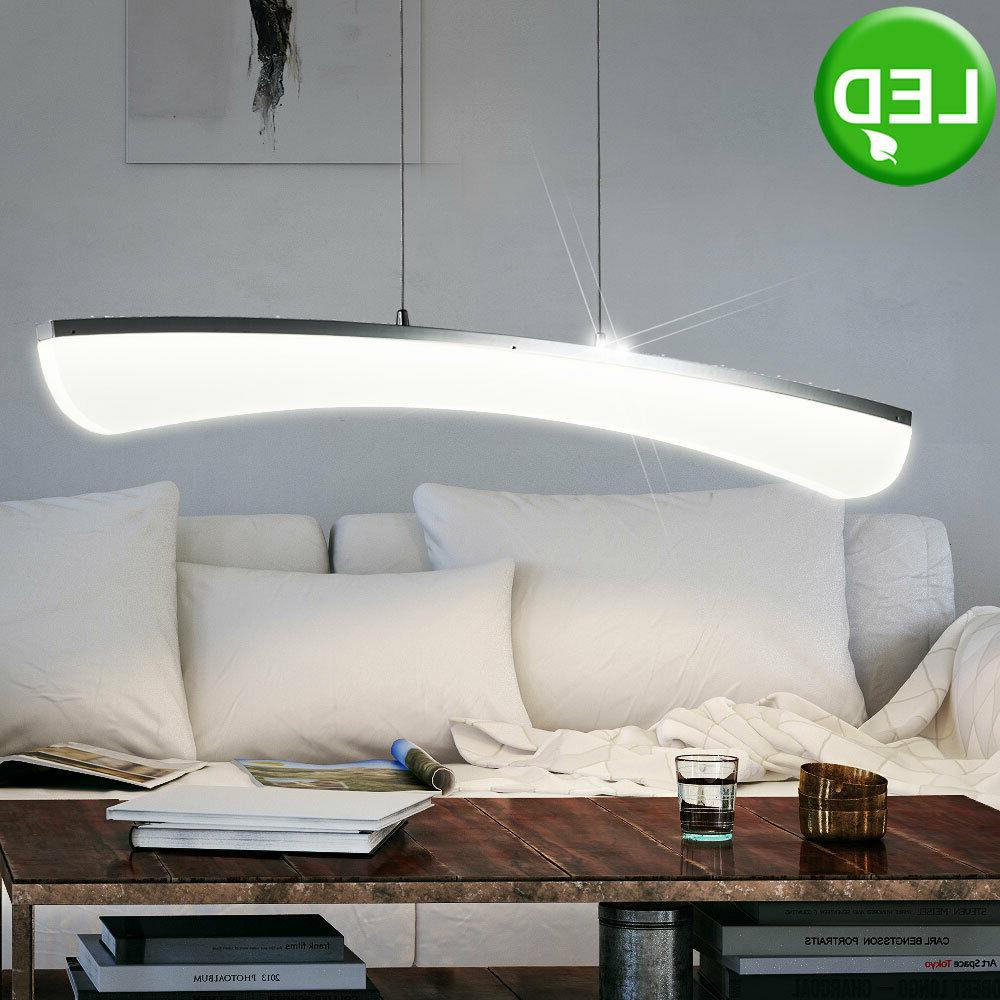 suspension led lustre luminaire plafond lampe del