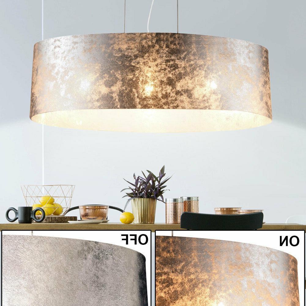 suspension luminaire lustre salle de sejour tissu