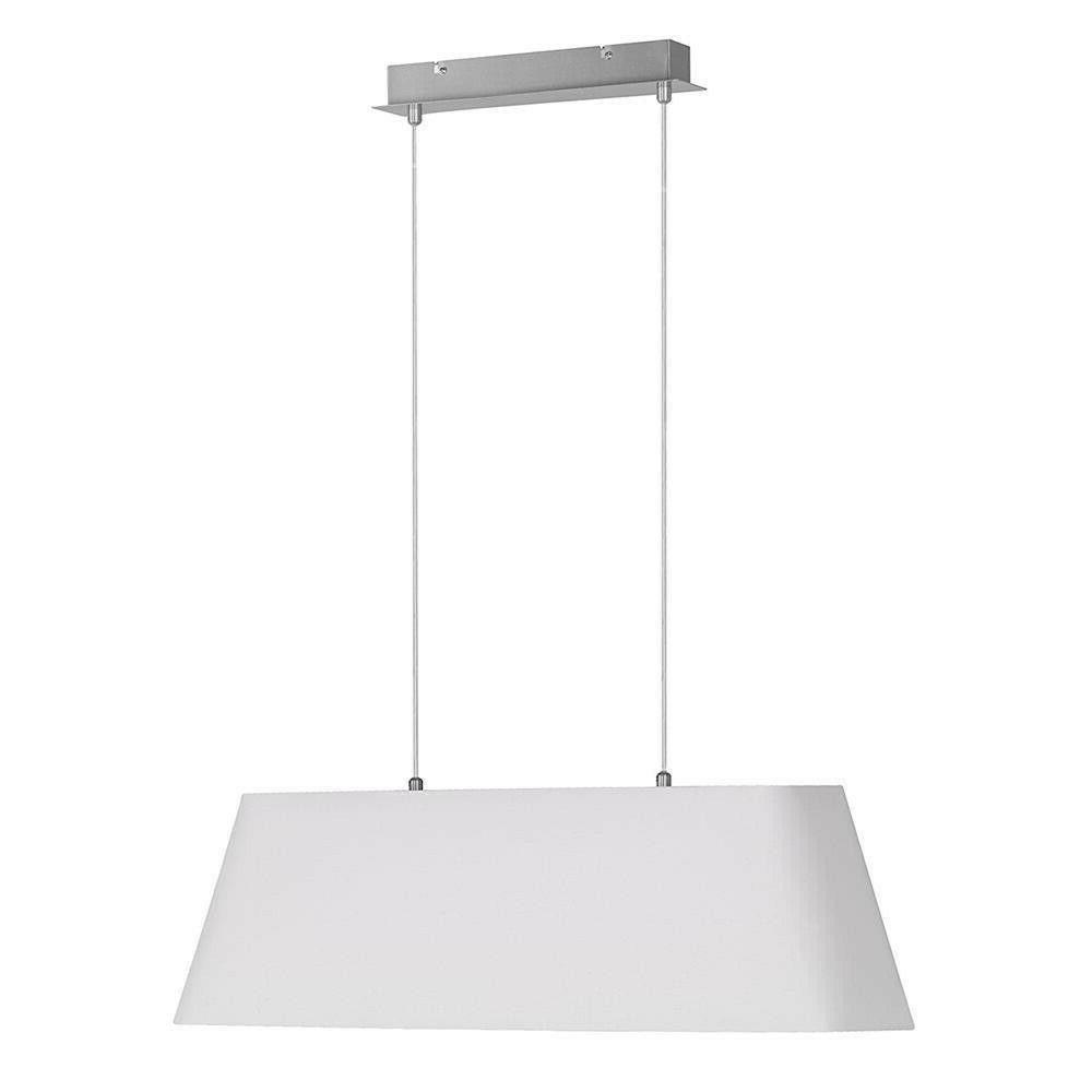 suspension luminaire tissu blanc 2xe27 max par