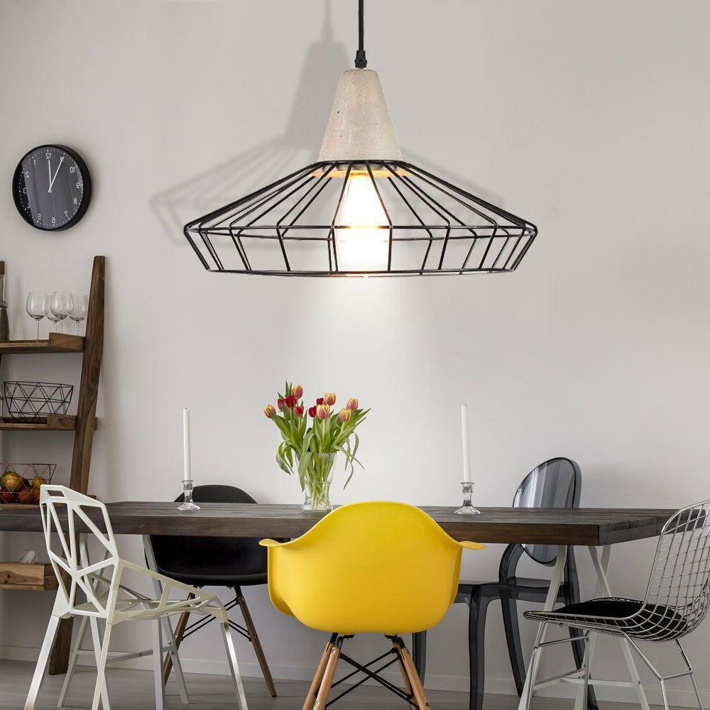 suspension lustre luminaire plafond eclairage salle a