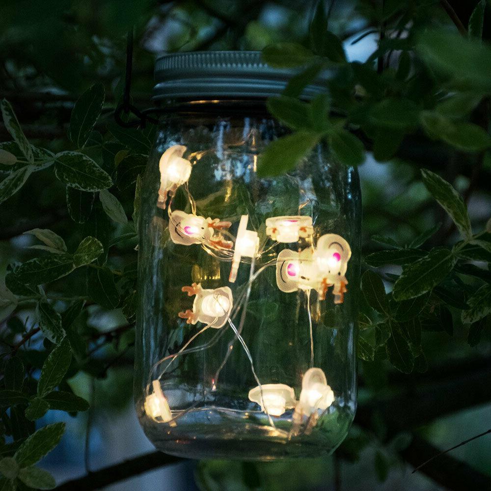 tableau solaire led mason jar suspension luminaire