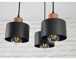 Lampe à Suspension 3 à Flammes Haut Luminaire Lampe 382-D3