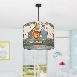 Lampe d'enfant Plafonnier LED Luminaire suspendu pour chambr