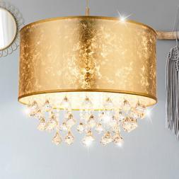 Lampe Salon luminaire chambre d'amis Luminaire Textile crist