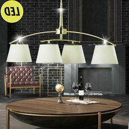 Lampe Suspendue LED Ess Chambre Tissu Éclairage Luminaire d
