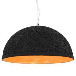 lampe suspendue noir et dore plafonnier luminaire