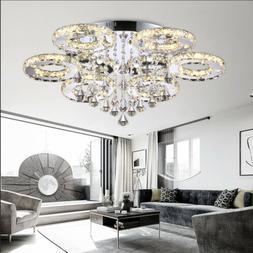 Style home LED Cristal Lustre Suspension Luminaire Lustre 61