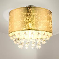LED design cristal plafonnier salon salle manger éclairage