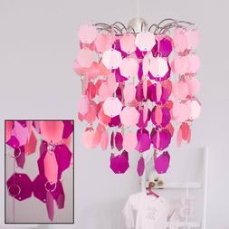 LED enfants suspension lampe jeu filles chambre éclairage p