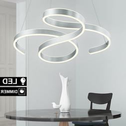 LED Luxe Suspendu Luminaire de Plafond Aluminium la Vie Somm