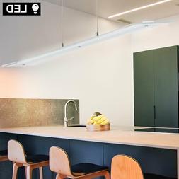 Design LED Pendule Luminaire Suspendu Chrome Verre Éclairag