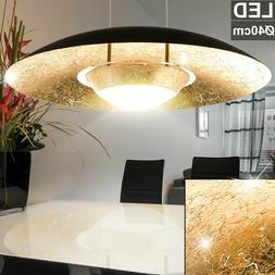 LED Plafond Luminaire or Noir la Vie Chambre Éclairage Cord