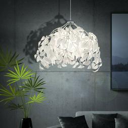 LED Plafond Suspendu Fleurs Feuilles Lampe Luminaire Éclair