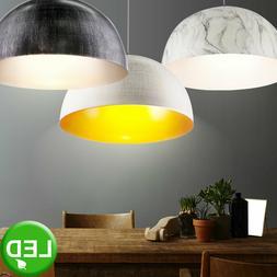 Design LED Pendule Luminaire Suspendu Or Marbre Travail Cham