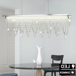 LED Suspendu Luminaire de Plafond Verre Cristal Ess Chambre