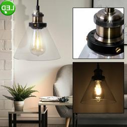LED Verre Luminaire Plafond Salon Chambre Couvercle Éclaira