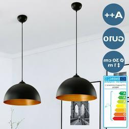 Lot de 2 Suspensions Luminaires Lampes Lustres Ø 30 cm Styl