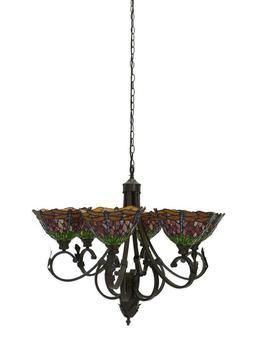 Luminaire Lampe Plafonnier Suspension en Tiffany-Stil Libell