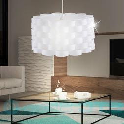 Luminaire pendante rond optique boucle lampe suspendu plafon