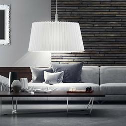 luminaire plafond abat jour pliable blanc salle