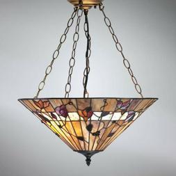 Luminaire Suspendu Bernwood Dans Tiffany Style Suspensions C