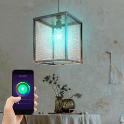 Luminaire suspendu intelligent RGB LED Suspension plafond Go