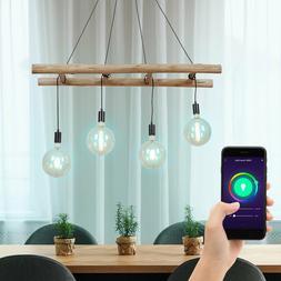 Luminaire suspendu LED RGB intelligent ALEXA App Suspension