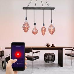 Luminaire suspendu LED RGB intelligent dimmable Appli ALEXA