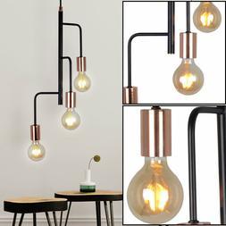 Luminaire Suspendu Lumière de Plafond Noir Lampe Ess Chambr