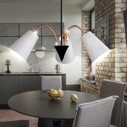 Luminaire suspendu salle à manger salon lampe textile natur