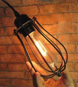 Lustre Rétro Vintage Industriel Suspension Luminaire Plafon