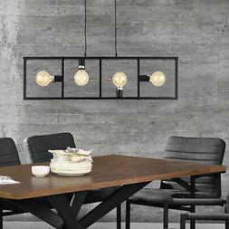 lux.pro® Suspension avec 4 douilles Lampe suspendue Luminai