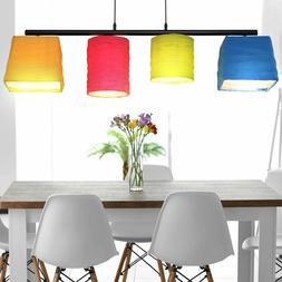 Luxe Luminaire Suspendu Couvrir Spot Ess Chambre Tissu Lampe