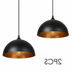 Métal Retro Suspensions 2 pack Luminaire Lampe industriel P