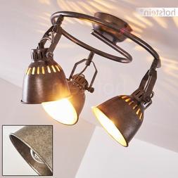 Plafonnier 3 spots Luminaire Retro Lampe à suspension Lampe